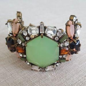 Jewelmint Art Deco Multi Stone Bracelet